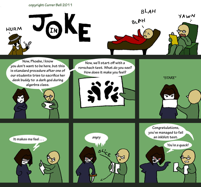 The In Joke 3: Psych
