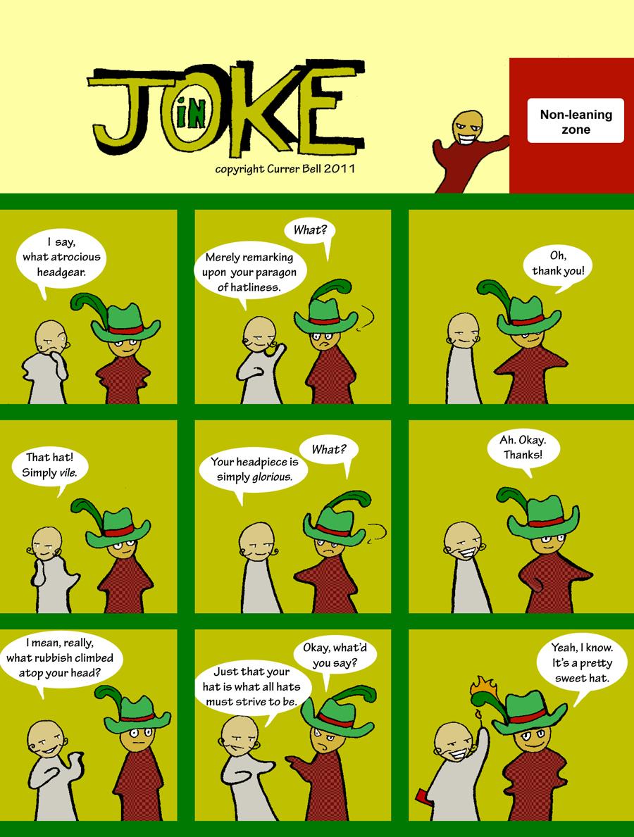 The In Joke 7: Hatliness